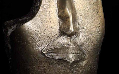 Gandy bronze 60x40x30 cm
