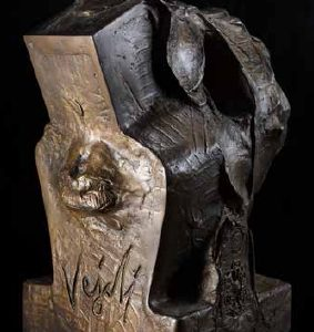 Head IV bronze 50x40x40 cm