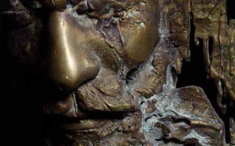 Head VIII bronze 50x40x40 cm